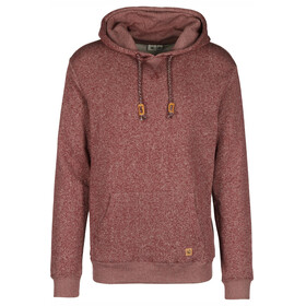 tentree Parksville P/O Hoodie Men Red Mahogany Marled